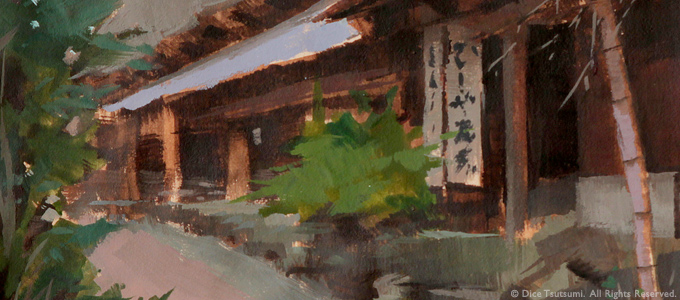 Illustration of Shibu Onsen